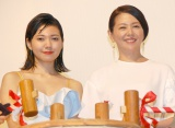 映画『ふきげんな過去』完成披露上映会に出席した(左から)二階堂ふみ、小泉今日子 (C)ORICON NewS inc.