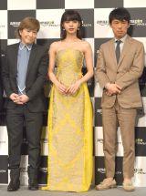 (左から)小室哲哉、池田エライザ、村上範義氏 (C)ORICON NewS inc.