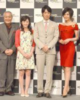 (左から)小野武彦、清野菜名、ディーン・フジオカ、藤原紀香 (C)ORICON NewS inc.