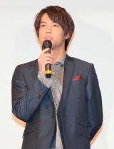 映画『全員、片想い』完成披露舞台あいさつに出席した中川大志 (C)ORICON NewS inc.