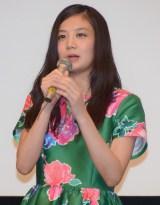 映画『全員、片想い』完成披露舞台あいさつに出席した清水富美加 (C)ORICON NewS inc.