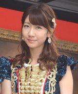 『AKB48選抜総選挙ミュージアム』のオープニングセレモニーに出席したAKB48柏木由紀 (C)ORICON NewS inc.