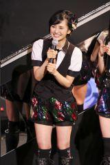 暫定8位となったHKT48・AKB48兒玉遥(C)AKS