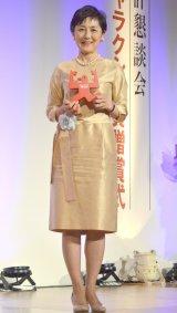 『第53回ギャラクシー賞』贈賞式に出席した国谷裕子氏(C)ORICON NewS inc.
