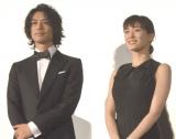 映画『高台家の人々』完成披露試写会に出席した(左から)斎藤工、綾瀬はるか (C)ORICON NewS inc.