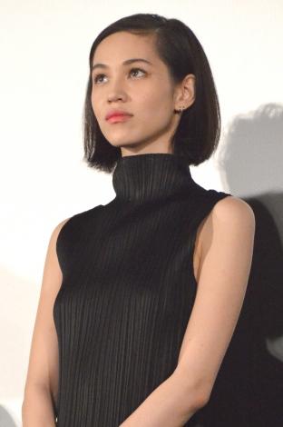 映画『高台家の人々』完成披露試写会に出席した水原希子 (C)ORICON NewS inc.