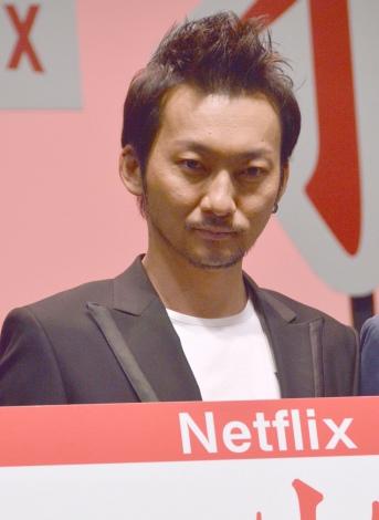 波岡一喜=Netflixドラマ『火花』完成披露試写会イベント (C)ORICON NewS inc.