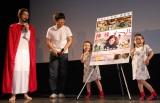 映画『神様メール』大ヒット記念イベントに出席した(左から)馬鹿よ貴方は、りんか&あんな (C)ORICON NewS inc.