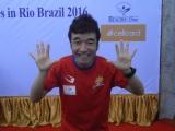 リオ・オリンピック男子マラソンカンボジア代表選手に決定した猫ひろし