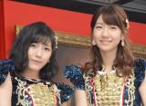 総選挙に向けて意気込みを語った(左から)渡辺麻友、柏木由紀 (C)ORICON NewS inc.