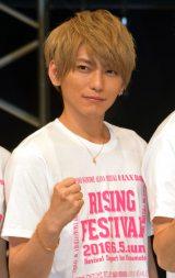 ライジングプロダクション『熊本地震復興支援ライブ』に出演したLeadの鍵本輝