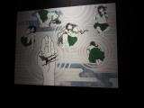 大胡田なつき「かれさんすいさん」 東京・汐留の日本テレビ2階で『アリスと時間のアート展』(6月4日〜12日)で展示(C)ORICON NewS inc.
