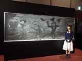 東京・汐留の日本テレビ2階で『アリスと時間のアート展』(6月4日〜12日)で展示(C)ORICON NewS inc.