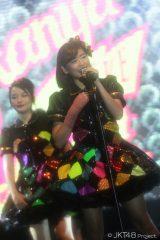 アンコールからはコンサートに合流した仲川遥香