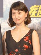 映画『疾風ロンド』のクランクアップ記者会見に登壇した大島優子 (C)ORICON NewS inc.