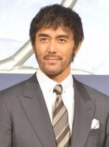 映画『疾風ロンド』のクランクアップ記者会見に登壇した阿部寛 (C)ORICON NewS inc.