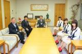 篠田昭市長、木村勇一副市長と面談(C)AKS