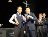 (写真左)『ワールドクラス2016 ジャパンファイナル』バーテンダー日本代表に選ばれた藤井隆さん、(写真右)昨年のワールドチャンピオン金子道人さん(C)oricon ME inc.