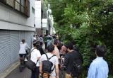 ファンキー加藤が会見を行った都内スタジオ (C)ORICON NewS inc.