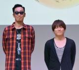 オリジナルアルバム『TIMELESS WORLD』リリース記念スペシャル試聴会を開催したコブクロ(左から)黒田俊介、小渕健太郎 (C)ORICON NewS inc.