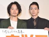 映画『セトウツミ』で共演している(左から)池松壮亮、菅田将暉 (C)ORICON NewS inc.