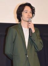 映画『セトウツミ』の完成披露舞台あいさつに出席した池松壮亮 (C)ORICON NewS inc.