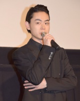 映画『セトウツミ』の完成披露舞台あいさつに出席した菅田将暉 (C)ORICON NewS inc.