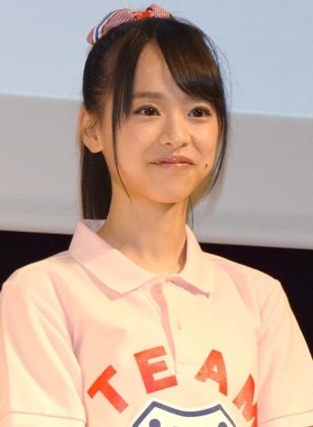 高校野球総合情報サイト『バーチャル高校野球』の公式応援キャラクターに就任したAKB48 Team8・倉野尾成美 (C)ORICON NewS inc.