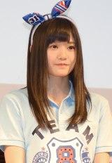 高校野球総合情報サイト『バーチャル高校野球』の公式応援キャラクターに就任したAKB48 Team8・中野郁海 (C)ORICON NewS inc.