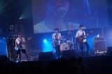 トリを務めた大阪発の4人組バンド・Brian the Sun
