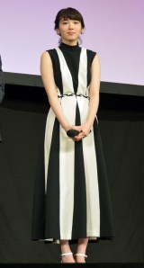 映画『MARS(マース)〜ただ、君を愛してる〜』サプライズ舞台あいさつに出席した飯豊まりえ (C)ORICON NewS inc.