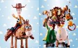 『超合金 トイ・ストーリー 超合体 ウッディロボ・シェリフスター』5体のキャラが合体すると、1体の巨大なロボットに変形(C)Disney/Pixar