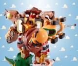 『超合金 トイ・ストーリー 超合体 ウッディロボ・シェリフスター』(C)Disney/Pixar