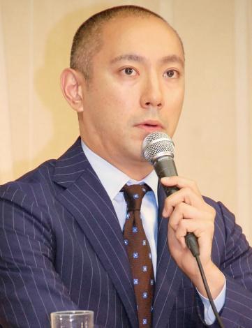 会見を行った市川海老蔵 (C)ORICON NewS inc.