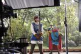 本田翼と出川哲朗が出演している『星のドラゴンクエスト』新CMのメイキング画像