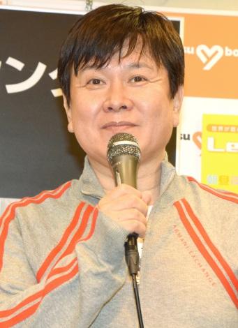 DVD『Let's アニソン・エクササイズ』発売記念イベントに出席した声優の三ツ矢雄二 (C)ORICON NewS inc.
