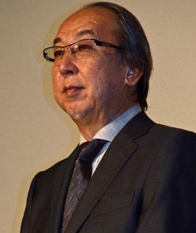 映画『64-ロクヨン-後編-』初日舞台あいさつを行った原作者の横山秀夫氏