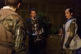 上杉景勝(遠藤憲一)の重臣として、並外れた手腕を発揮する直江兼続(村上新悟)(C)NHK