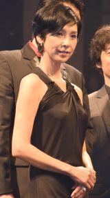 『ショートショートフィルムフェスティバル&アジア(SSFF&ASIA)2016』アワードセレモニーに出席した黒木瞳 (C)ORICON NewS inc.