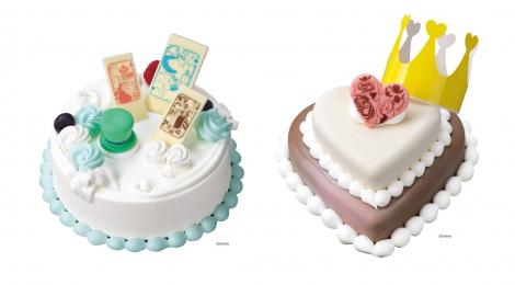 サムネイル 「不思議の国のアリス」の世界観がつまったアイスクリームケーキ(C)Disney