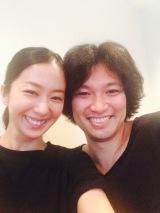 結婚を発表した(左から)優香&青木崇高
