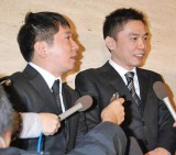 談志さんとの思い出を語る、爆笑問題の田中裕二(左)と太田光 (C)ORICON DD inc.