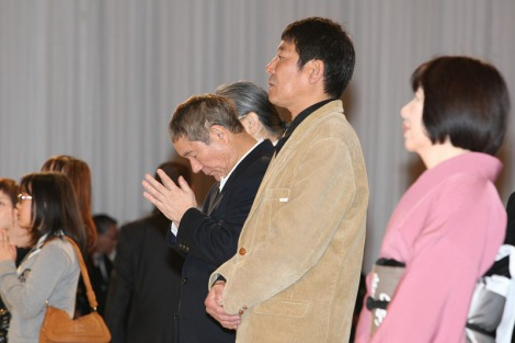 立川談志さんの『お別れの会』には、ビートたけし、ダンカンらが参列 (c)Tomohiro Akutsu