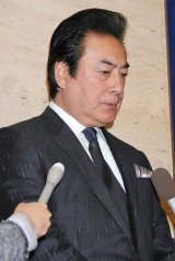 立川談志さんの『お別れの会』に参列した高橋英樹 (C)ORICON DD inc.