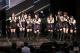暫定2位 指原莉乃発表時のメンバー=HKT48劇場(C)AKS