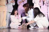 暫定1位となった渡辺麻友=AKB48劇場(C)AKS
