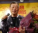 CDボックス『森雪之丞原色大百科』(5月25日発売)の発売記念イベントを開催した森雪之丞氏 (C)ORICON NewS inc.