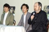 舞台『BENT(ベント)』トークセッション風けいこ場取材会に出席した(左から)佐々木蔵之介、北村有起哉、演出・森新太郎氏 (C)ORICON NewS inc.