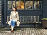 6月25日放送、NHK・BSプレミアム『スーパープレミアム 「ザ・ビートルズ フェス!」』で森高千里による「ザ・ビートルズ 英国紀行」をオンエア。ロンドンの街角にて(C)NHK