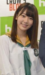 ホラー・サスペンスHuluオリジナルドラマ『CROW'S BLOOD』に主演するHKT48の宮脇咲良 (C)ORICON NewS inc.